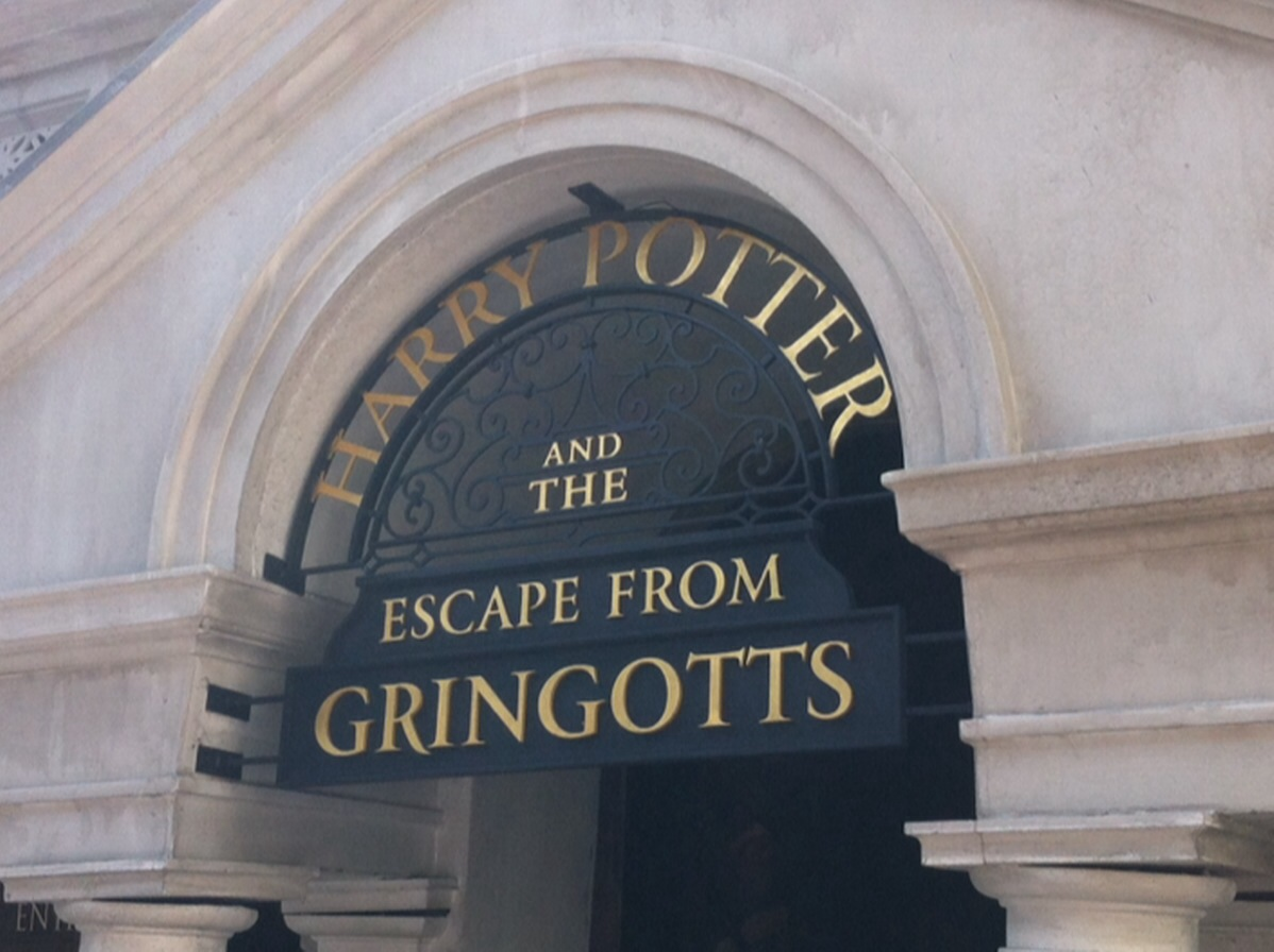 Friday Favorites: Escape From Gringotts At Diagon Alley