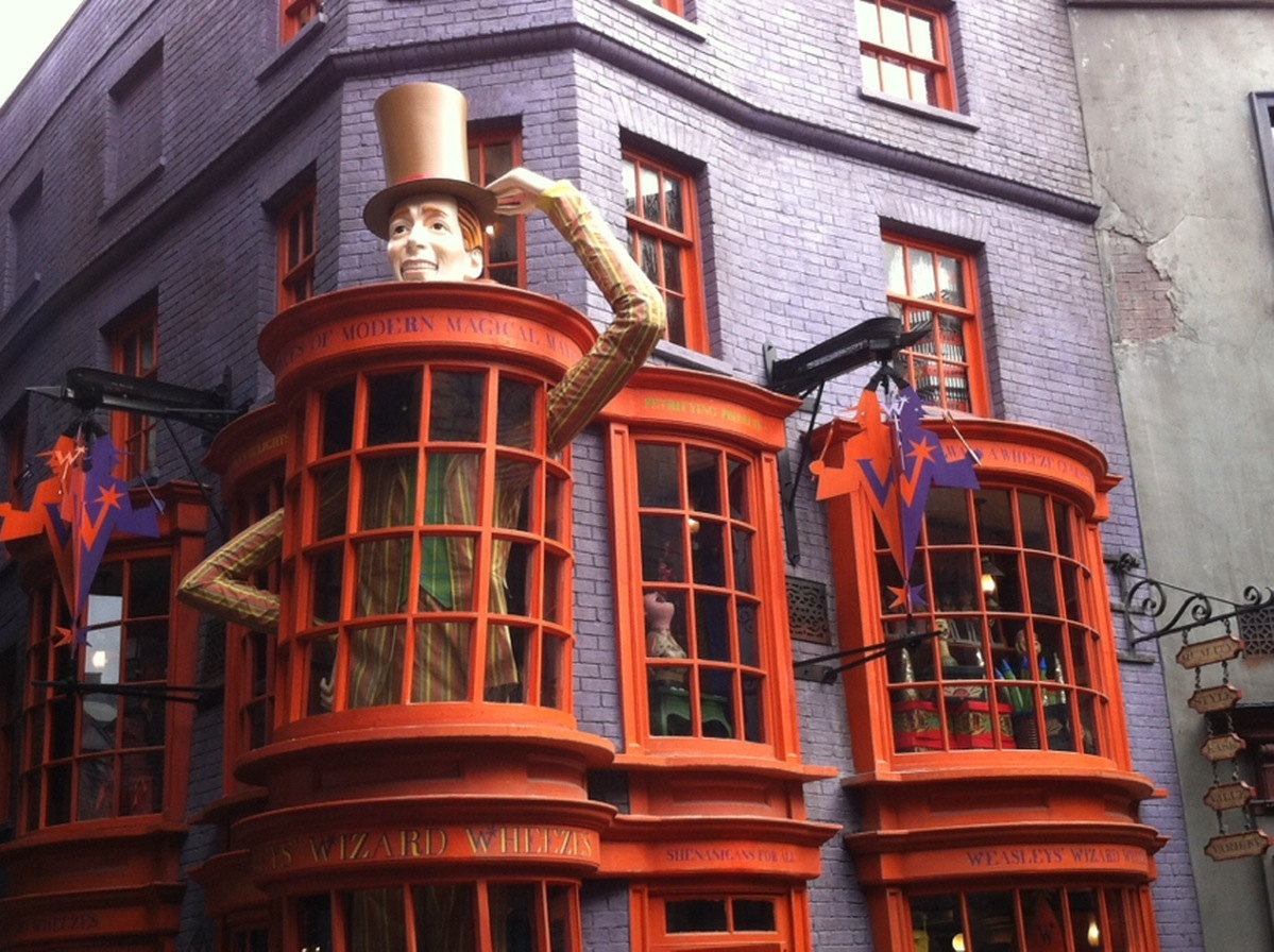 Five Shops To Visit At Diagon Alley